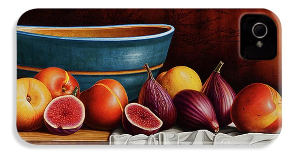 Peaches And Figs IPhone 4 / 4s Case by Horacio Cardozo