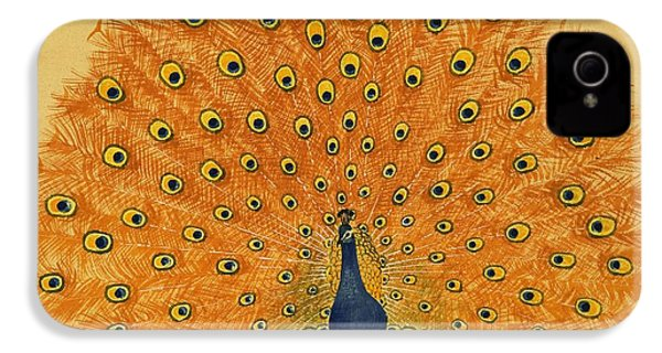 Peacock IPhone 4 / 4s Case by English School