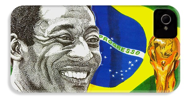 Pele IPhone 4 / 4s Case by Cory Still