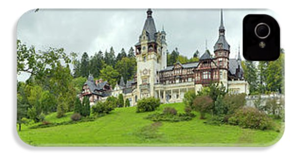 Peles Castle In The Carpathian IPhone 4 / 4s Case by Panoramic Images