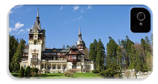 Peles Castle, Sinaia, Carpathian IPhone 4 / 4s Case by Martin Zwick