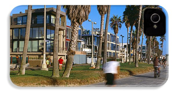 People Riding Bicycles Near A Beach IPhone 4 / 4s Case by Panoramic Images