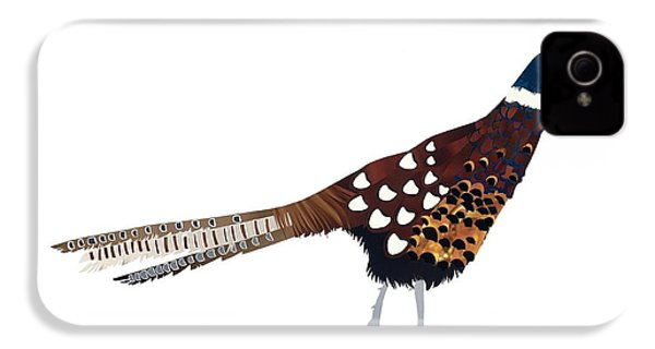 Pheasant IPhone 4 Case by Isobel Barber