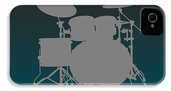 Philadelphia Eagles Drum Set IPhone 4 Case by Joe Hamilton