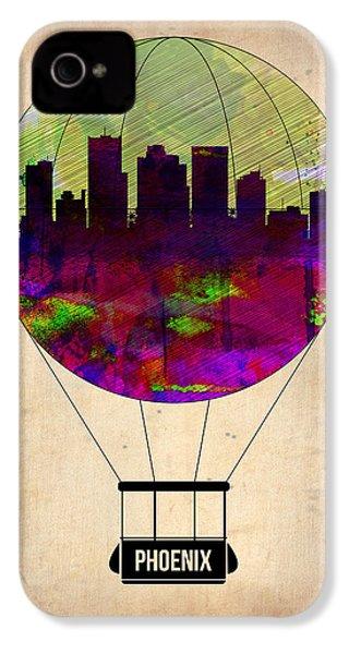 Phoenix Air Balloon  IPhone 4 / 4s Case by Naxart Studio