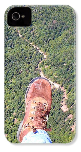 IPhone 4 Case featuring the photograph Pieds Loin Du Sol by Marc Philippe Joly