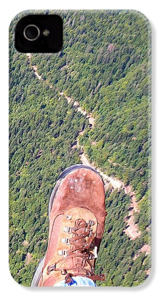 Pieds Loin Du Sol IPhone 4 Case by Marc Philippe Joly
