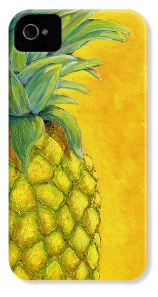 Pineapple IPhone 4 / 4s Case by Karyn Robinson