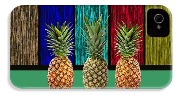 Pineapples IPhone 4 / 4s Case by Marvin Blaine