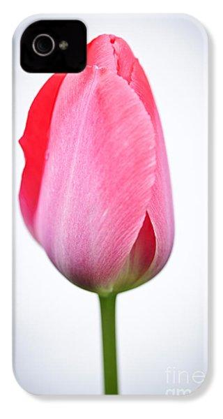 Pink Tulip IPhone 4 Case