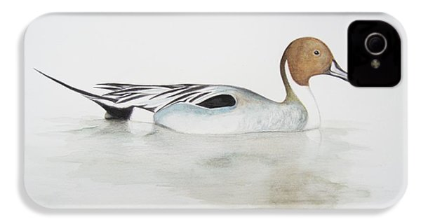 Pintail Duck IPhone 4 / 4s Case by Ele Grafton