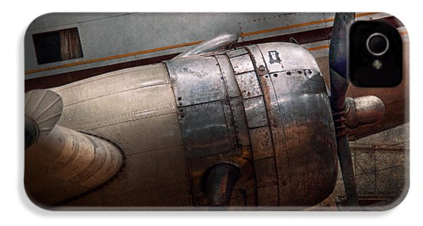 Plane - A Little Rough Around The Edges IPhone 4 Case by Mike Savad