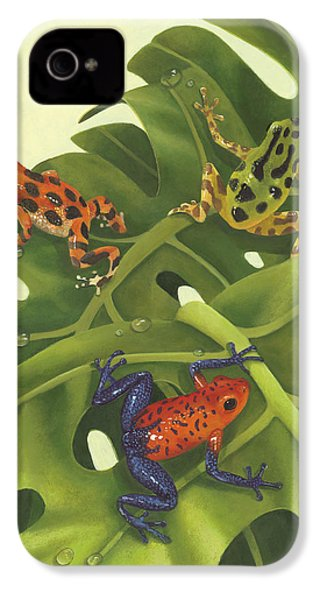 Poison Pals IPhone 4 Case by Laura Regan