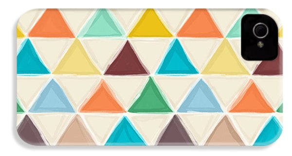 Portland Triangles IPhone 4 / 4s Case by Sharon Turner