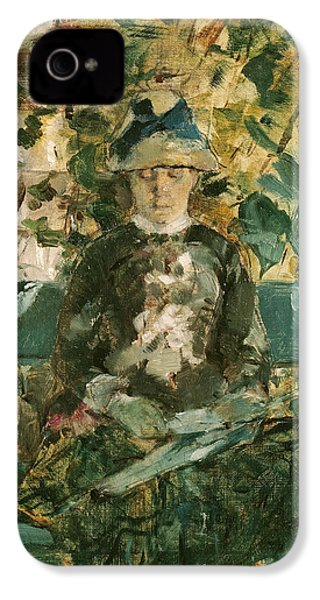 Portrait Of Adele Tapie De Celeyran IPhone 4 / 4s Case by Henri de Toulouse-Lautrec