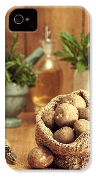 Potatoes IPhone 4 / 4s Case by Amanda Elwell