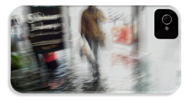 IPhone 4 Case featuring the photograph Pounding The Pavement by Alex Lapidus