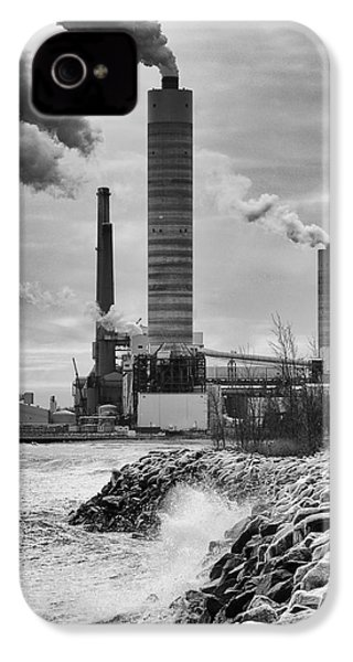 IPhone 4 Case featuring the photograph Power Station by Ricky L Jones