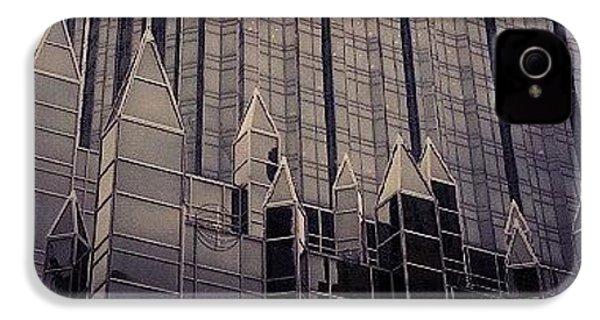 Downtown Castle IPhone 4 Case by Charlie Cliques