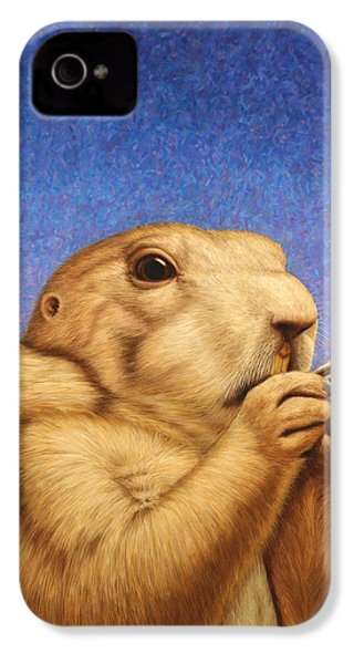Prairie Dog IPhone 4 Case by James W Johnson