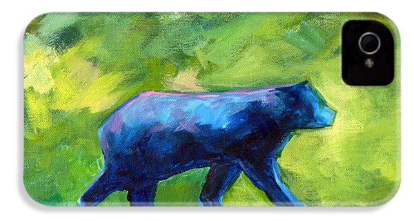 Prowling IPhone 4 Case by Nancy Merkle