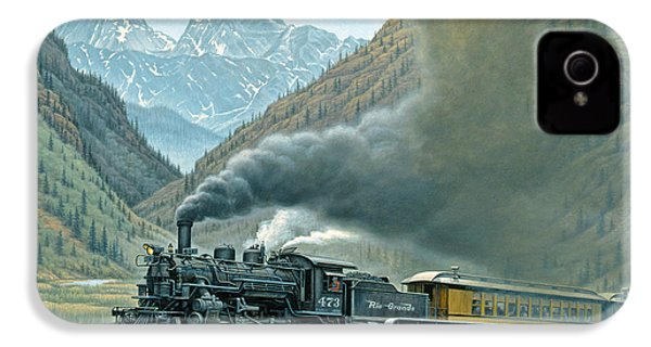 Pulling For Silverton IPhone 4 Case by Paul Krapf