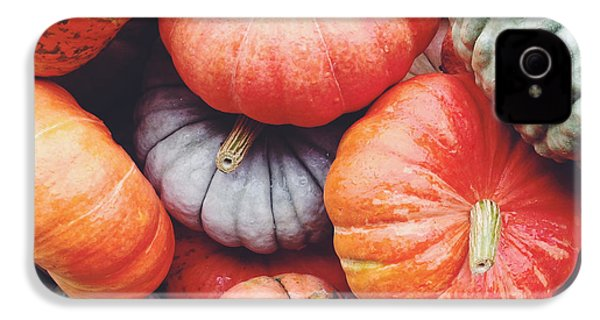 Pumpkins Galore IPhone 4 / 4s Case by Kim Fearheiley