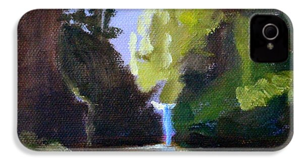 Punch Bowl Falls IPhone 4 Case by Nancy Merkle