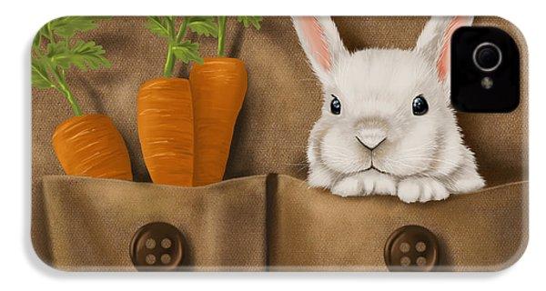 Rabbit Hole IPhone 4 Case by Veronica Minozzi