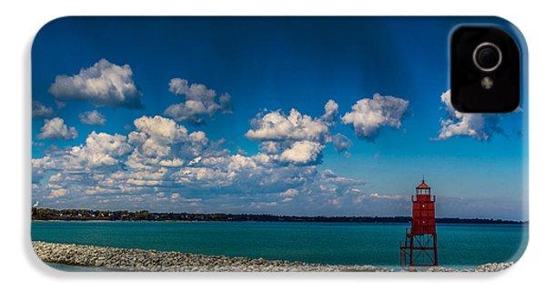 Racine Harbor Lighthouse IPhone 4 Case