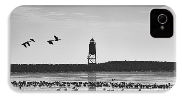IPhone 4 Case featuring the photograph Racine Lakefront by Ricky L Jones