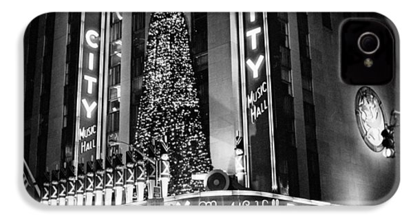 IPhone 4 Case featuring the photograph Radio City New York by Dave Beckerman