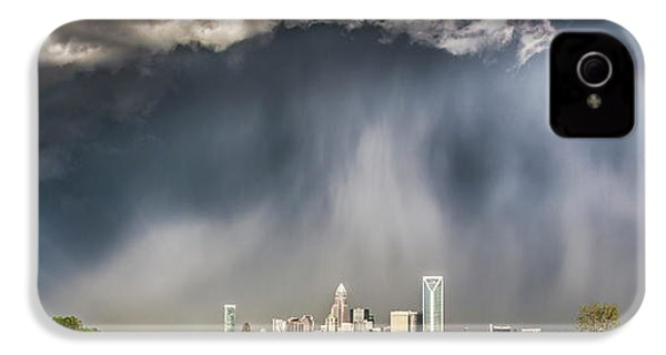 Rainbow Over Charlotte IPhone 4 Case by Chris Austin