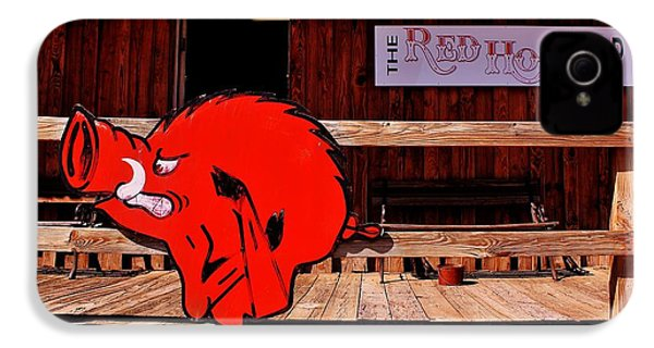 Razorback Country IPhone 4 Case by Benjamin Yeager
