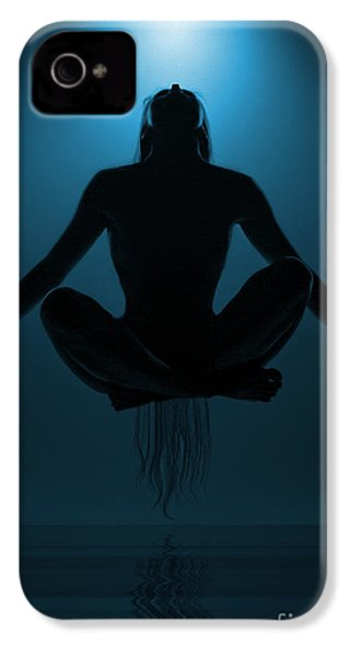 Reaching Nirvana.. IPhone 4 Case by Nina Stavlund