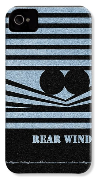 Rear Window IPhone 4 Case by Ayse Deniz