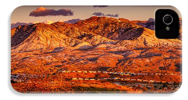 Red Planet IPhone 4 Case by Mark Myhaver