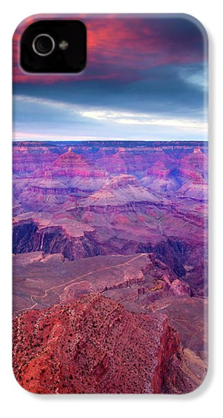Red Rock Dusk IPhone 4 Case