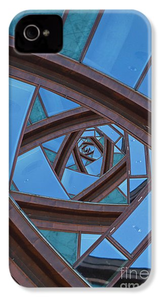 IPhone 4 Case featuring the photograph Revolving Blues. by Clare Bambers