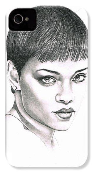 Rihanna IPhone 4 / 4s Case by Murphy Elliott