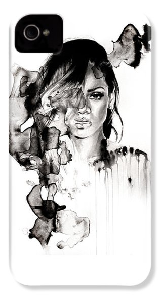 Rihanna Stay IPhone 4 Case by Molly Picklesimer