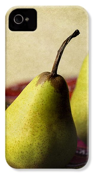 Ripe And Ready IPhone 4 Case by Linda Lees