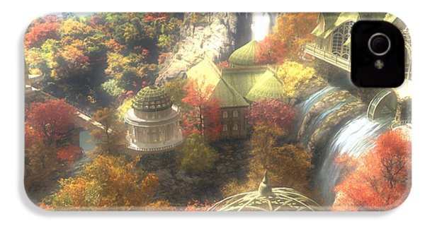 Rivendell IPhone 4 Case by Cynthia Decker