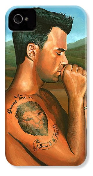 Robbie Williams 2 IPhone 4 Case