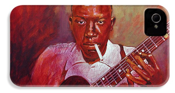 Robert Johnson Photo Booth Portrait IPhone 4 Case