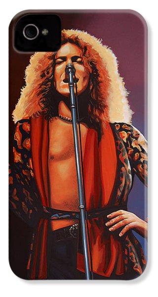 Robert Plant 2 IPhone 4 Case by Paul Meijering