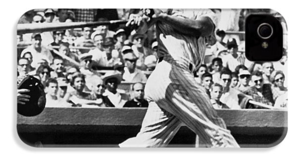 Roger Maris Hits 52nd Home Run IPhone 4 Case by Underwood Archives