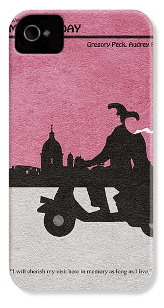 Roman Holiday IPhone 4 / 4s Case by Ayse Deniz