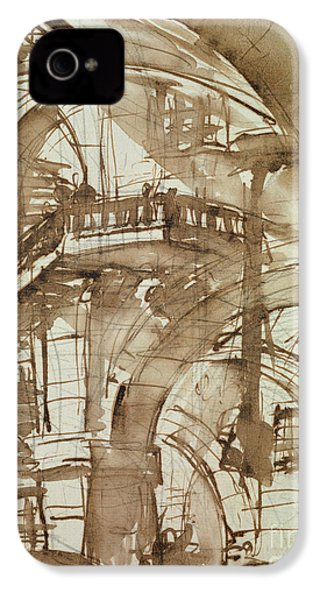 Roman Prison IPhone 4 / 4s Case by Giovanni Battista Piranesi
