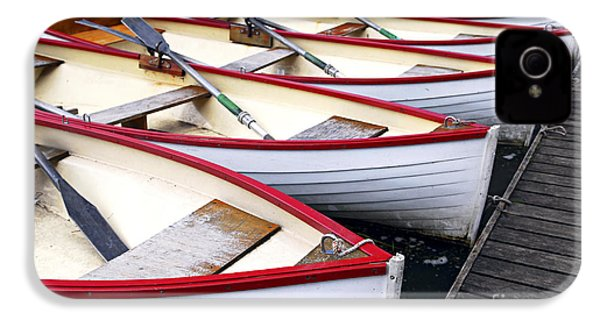 Rowboats IPhone 4 / 4s Case by Elena Elisseeva